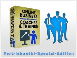 Onlinebusiness Coaches, Berater und Trainer Cover