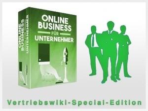 Onlinebusiness für Unternehmer Cover