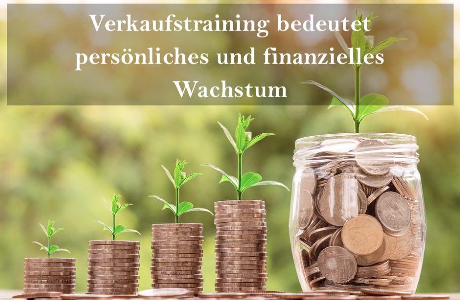 Verkaufstraining bedeutet persönliches und finanzielles Wachstum