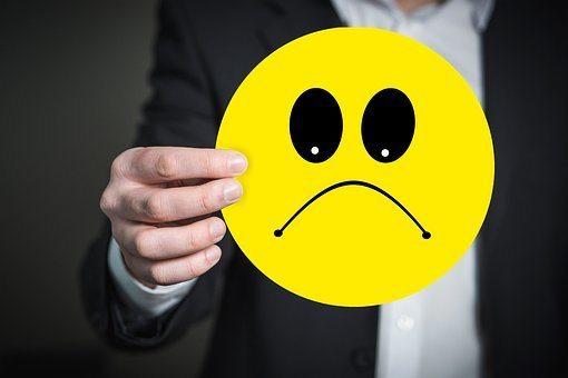 Emoji, Smiley, Schlecht Gelaunt, Gefühl, keine positive Ausstrahlung