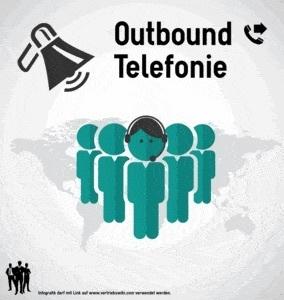 Outbound Telefonie Infografik Titel Infoseite