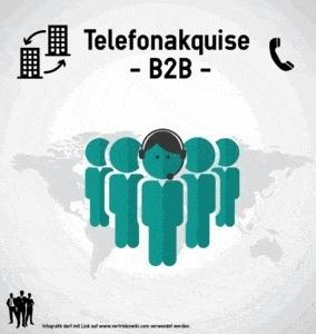 Telefonakquise B2B Infografik Titel Infoseite
