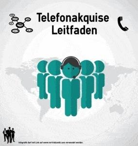 Telefonakquise Leitfaden Infografik Titel Infoseite