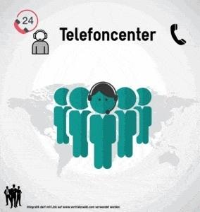 Telefoncenter Infografik Titel Infoseite