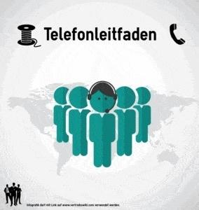 Telefonleitfaden Infobild für Telefonvertriebler