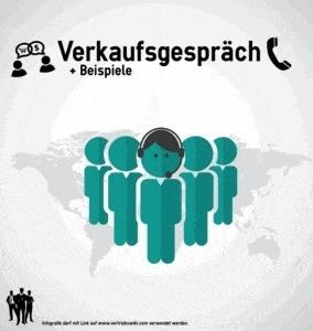 Verkaufsgespräch Beispiele Infografik Titel Infoseite