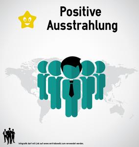Positive Ausstrahlung Infobild für Artikel
