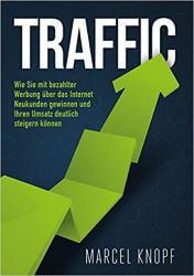 Traffic Marcel Knopf Performance Marketing Buchcover