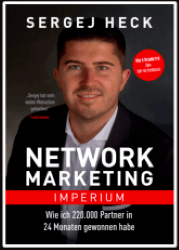 Sergej Heck Buch - Network Marketing Imperium Cover