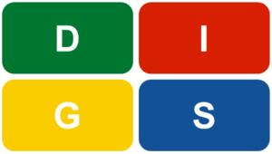 DISG Modell Kritik Logo