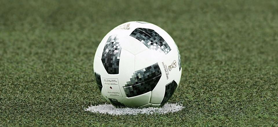 Fußball, Anpfiff, Beginn, Mittelpunkt, Fussball, Ball