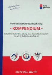 Mehr Geschäft Online Marketing Kompendium Buch Cover