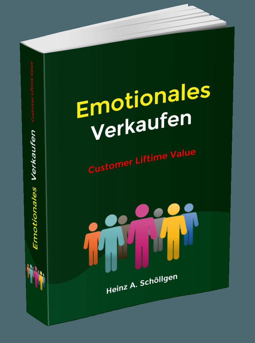 Emotionales Verkaufen Buchcover, um bessere Verkaufsgespräche zu führen.