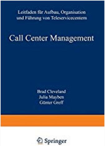 Call Center Management Buchtitel