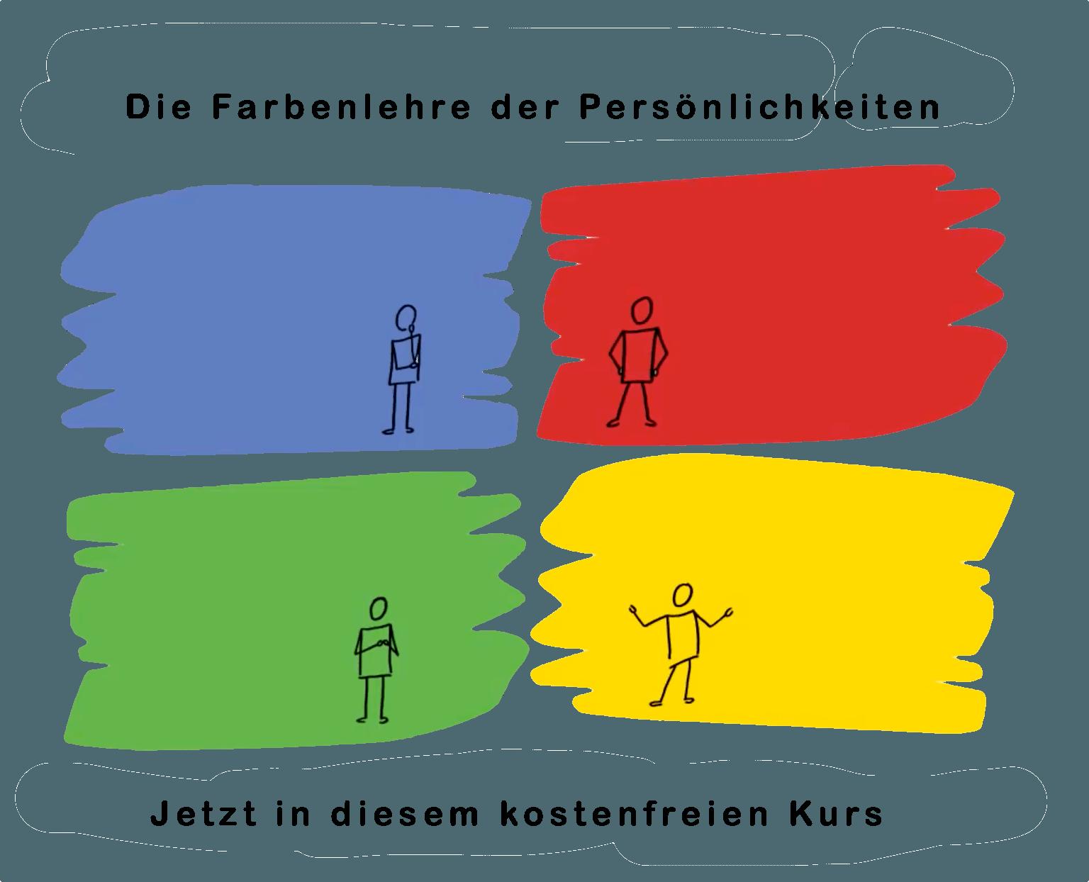 Die Farbenlehre der Persönlichkeiten - Jetzt in diesem kostenfreien Kurs