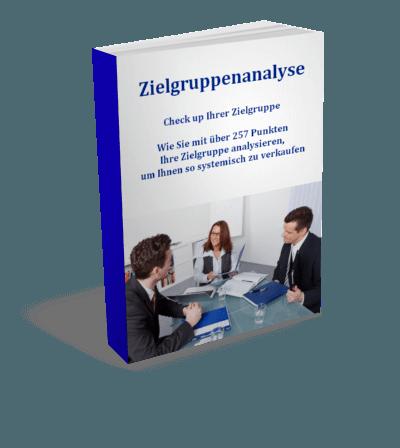 Zielgruppenanalyse zur Bedarfsermittlung Buchcover